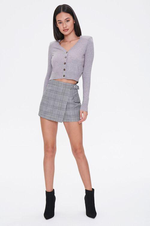 Shoulder-Pad Cardigan Sweater, image 4