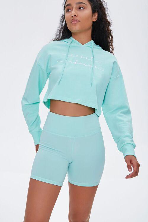 Active High-Rise Biker Shorts, image 1