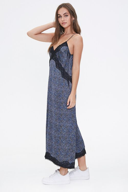 Spotted Print Maxi Dress, image 2