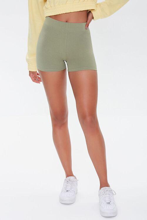 Basic Organically Grown Cotton Hot Shorts, image 2