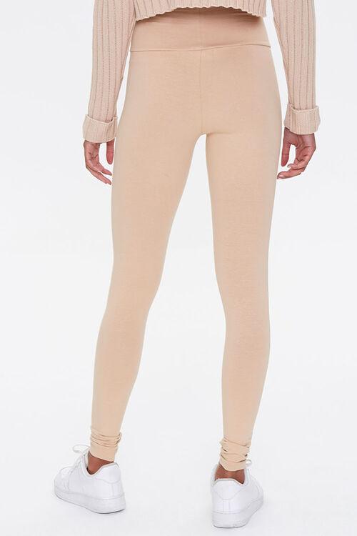 Cotton-Blend High-Rise Leggings, image 4