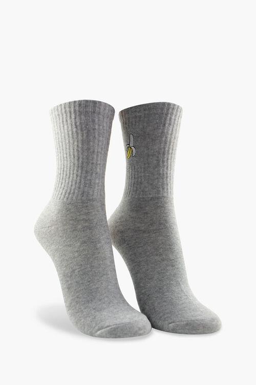Banana Patch Crew Socks, image 1