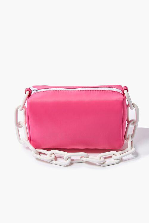 PINK Nylon Shoulder Bag, image 1