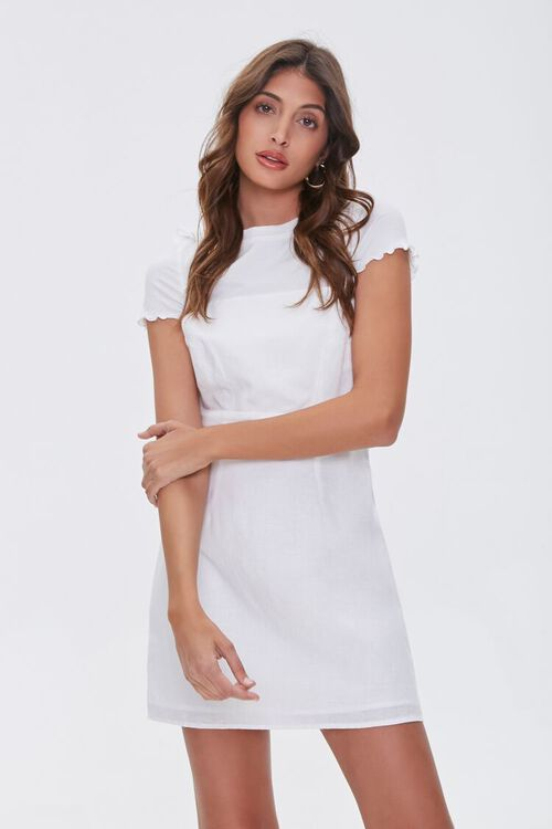 Linen-Blend Cami Dress, image 2