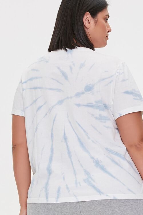 Plus Size Michigan Graphic Tie-Dye Tee, image 3