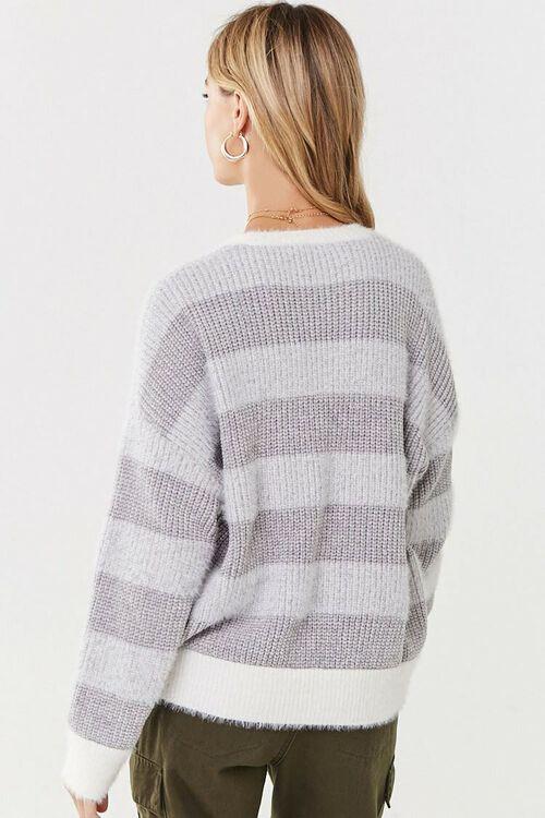 Fuzzy Striped Sweater, image 3