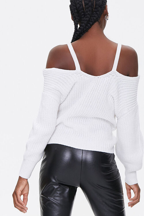 Ribbed Twist-Front Sweater, image 3