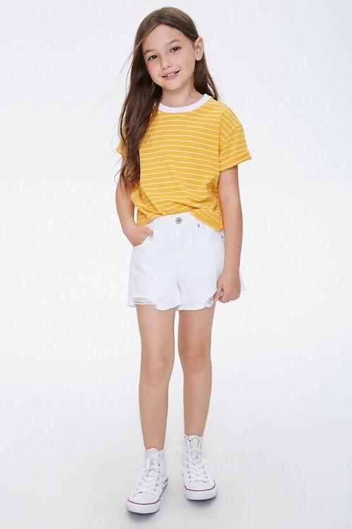 Girls Denim Shorts (Kids), image 5