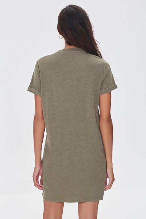 Los Angeles Graphic T-Shirt Dress, image 3