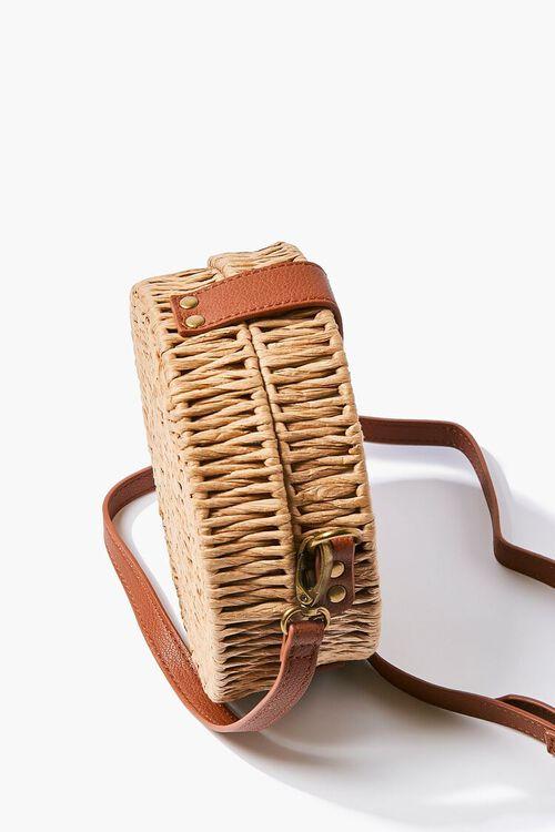 Basket-Woven Crossbody Bag, image 2