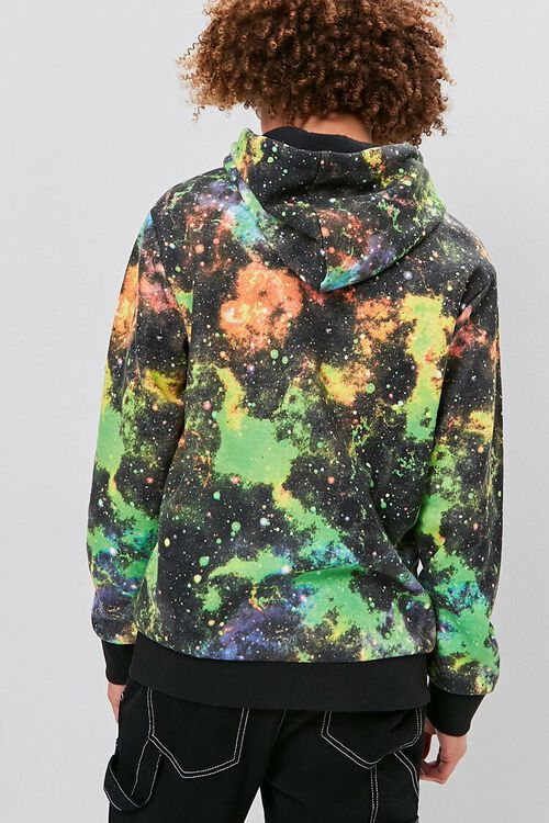 Outer Space Wash Drawstring Hoodie, image 3