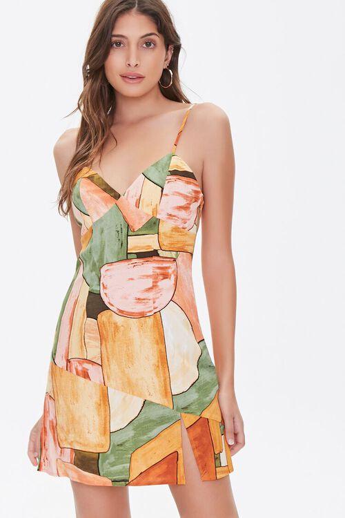 Abstract Cami Mini Dress, image 1