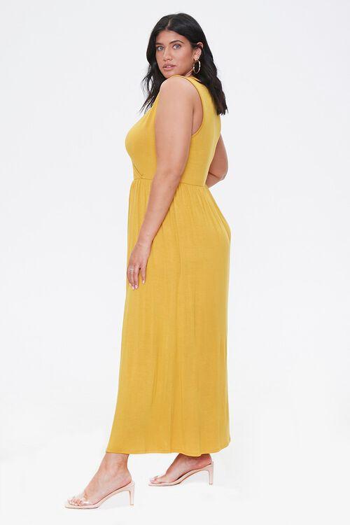 Plus Size Sleeveless Maxi Dress, image 2