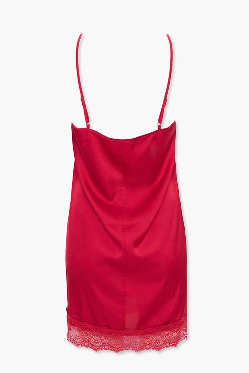 Lace-Trim Slip Nightdress, image 3