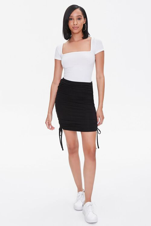 Ruched Bodycon Skirt, image 5