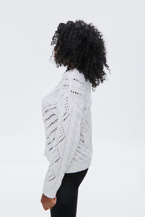 Illusion Mesh Sweater, image 2
