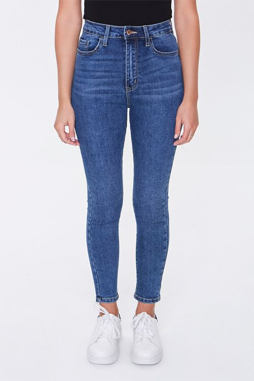 Petite High-Rise Skinny Jeans, image 1