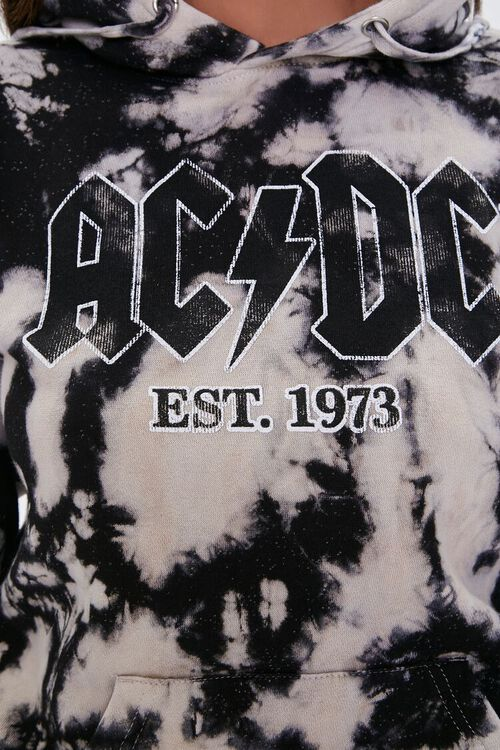 AC/DC Graphic Bleached Wash Hoodie, image 5