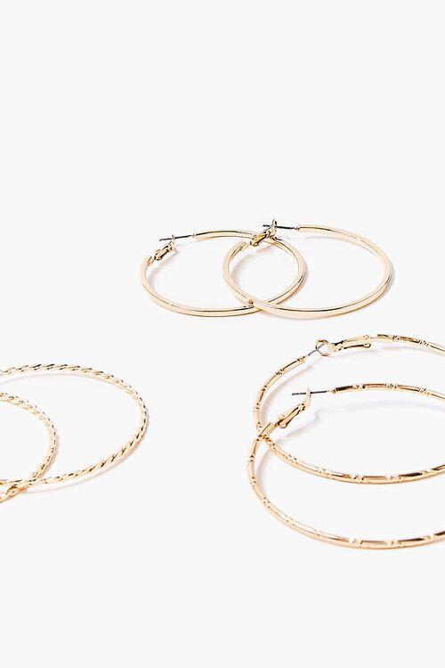 Thin Hoop Earring Set, image 2