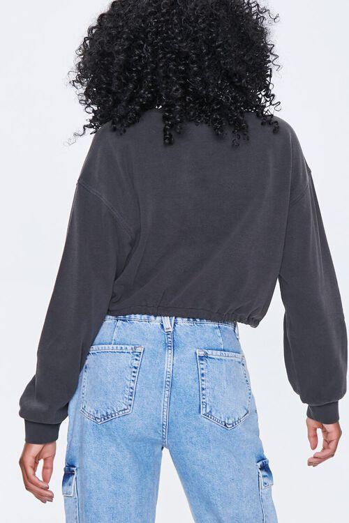 Boxy Self-Tie Drawstring Sweatshirt, image 3