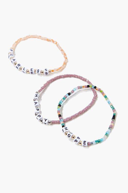 Fearless Beaded Bracelet Set, image 2