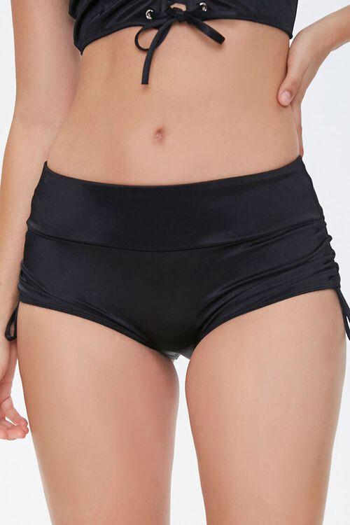 Satin Drawstring Panties, image 2