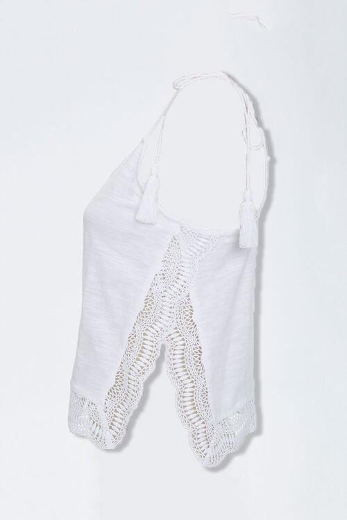 Crochet-Trim Tasseled Cami, image 2