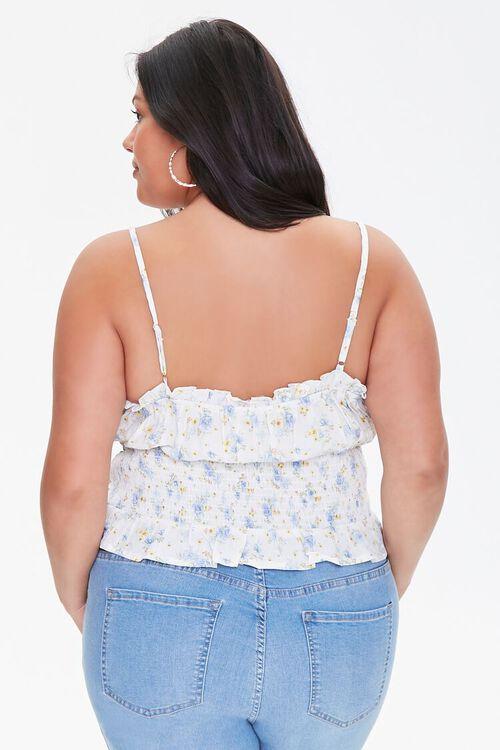 Plus Size Floral Print Cami, image 3