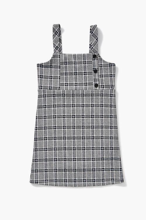 Girls Plaid Pinafore Dress (Kids), image 1