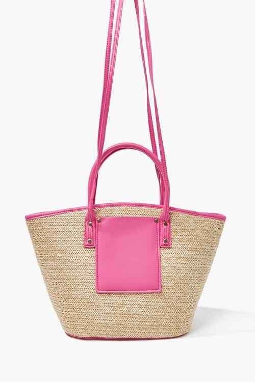 Basketwoven Tote Bag, image 1