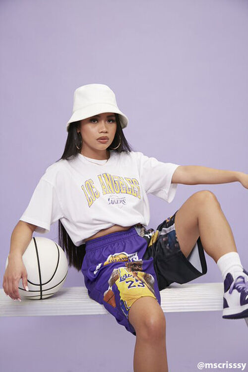 Los Angeles Lakers Cropped Tee, image 1