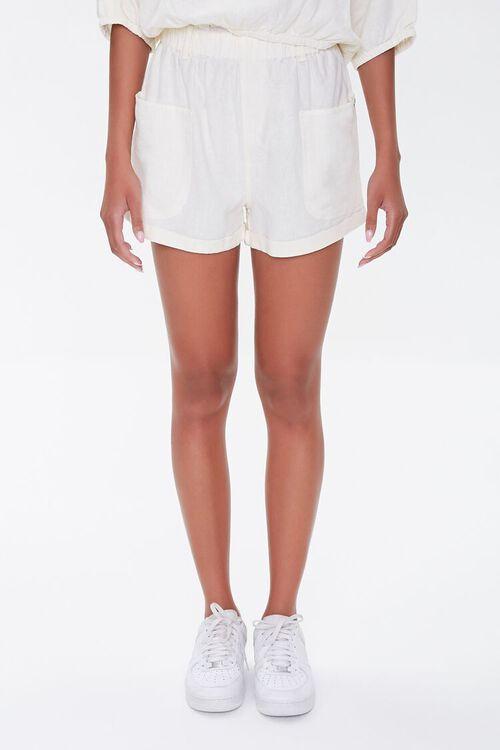Kendall & Kylie Linen-Blend Shorts, image 2
