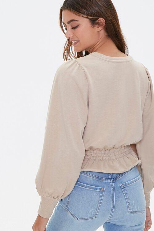 Heathered Fleece Top, image 3