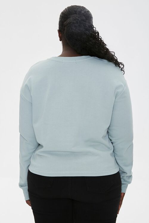 Plus Size Tarot Graphic Pullover, image 3