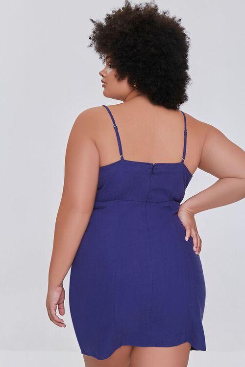 Plus Size Sheath Cami Mini Dress, image 3