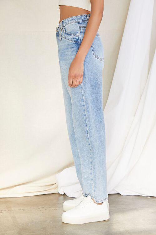 Crisscross Waist 90s Fit Jeans, image 3