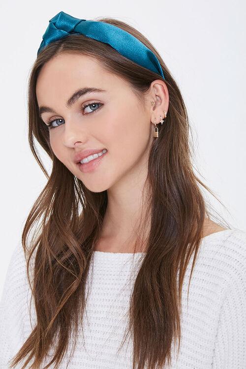 Knotted Satin Headband, image 1