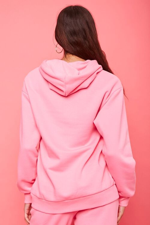 PINK/MULTI Juicy Couture Rhinestone Fleece Hoodie, image 3