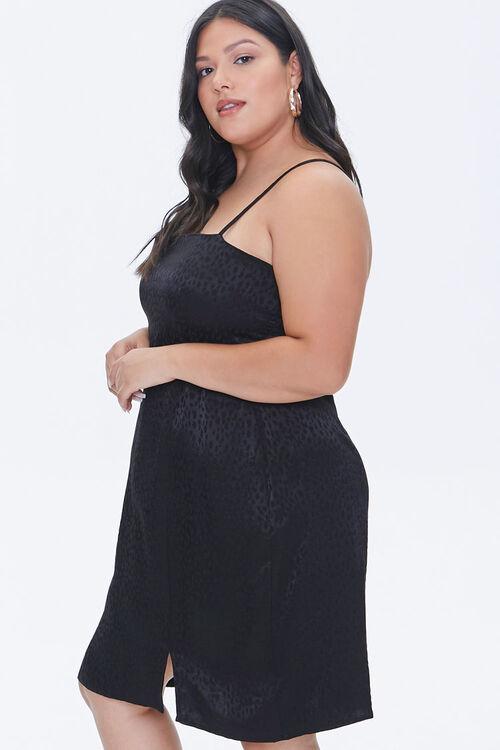 Plus Size Jacquard Cami Dress, image 2
