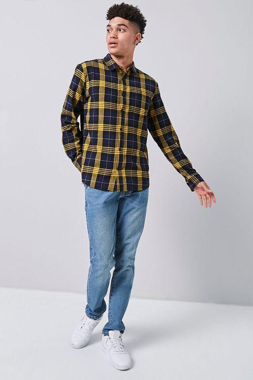 Classic Plaid Flannel Shirt, image 4