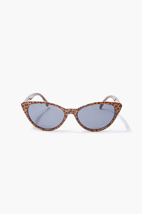 Cheetah Cat-Eye Sunglasses, image 2