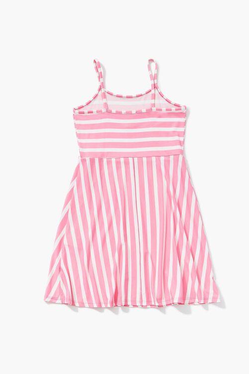 Girls Striped Cami Dress (Kids), image 2