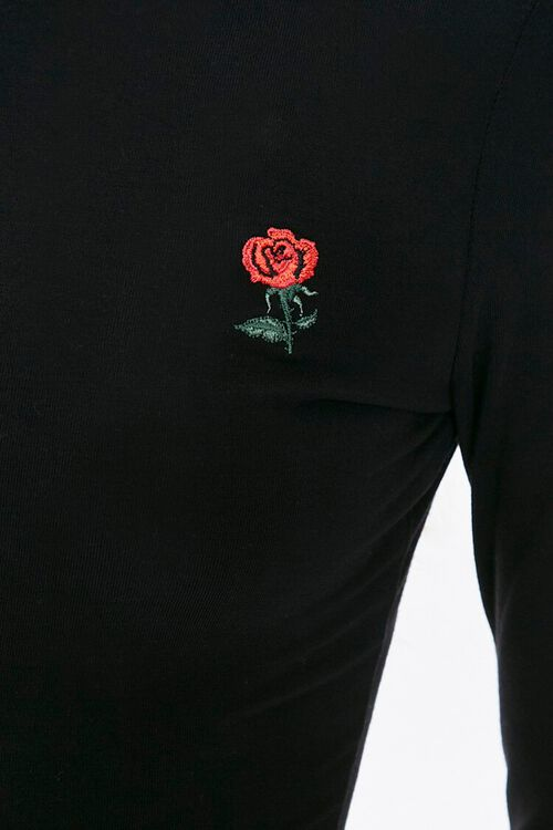 Rose Embroidered Graphic Top, image 5