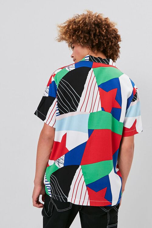 GREY/MULTI Classic Fit Patternblock Shirt, image 3