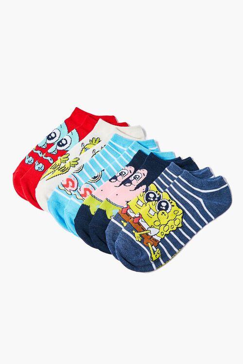 SpongeBob SquarePants Ankle Socks Set, image 2
