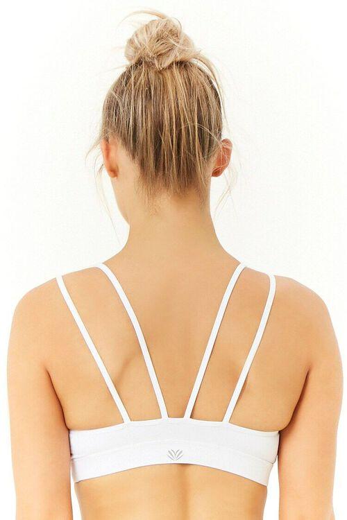 WHITE/WHITE Low Impact - Sports Bra, image 3