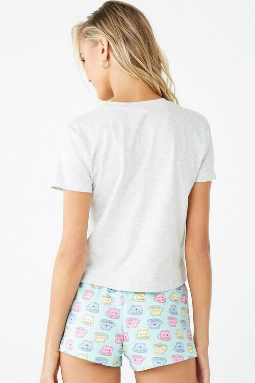Coffee Graphic Pajama Set, image 3