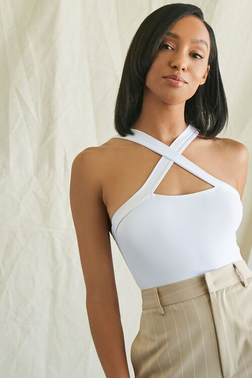 Crisscross-Back Bodysuit, image 1