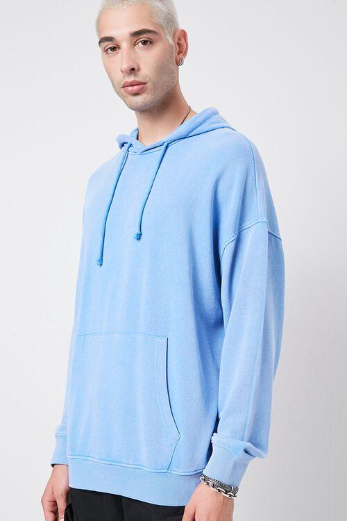 BLUE Kangaroo Pocket Hoodie, image 1