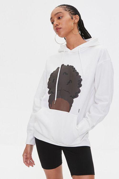 CREAM/MULTI Stormy Nesbit Black Women Matter Graphic Hoodie, image 7